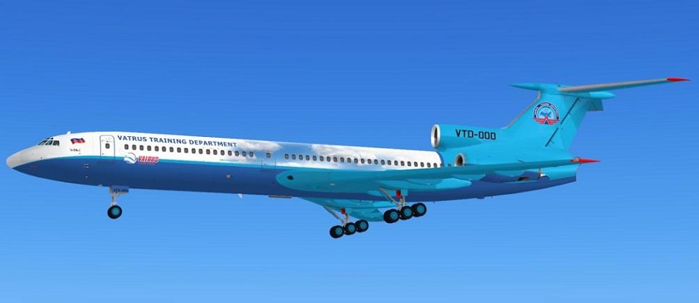 Ливрея УТЦ для Ту-154-Б2 для FSX